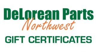 DeLorean Parts Gift Certificates Northwest Upgrades | DeLorean-Parts.com