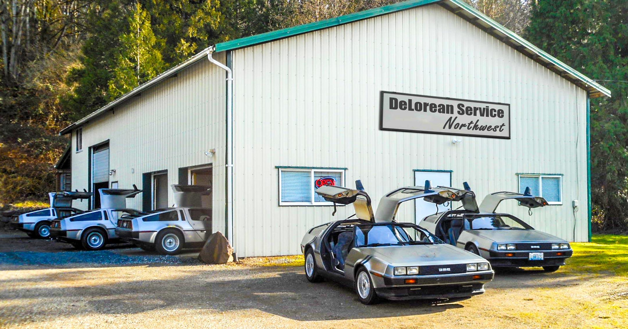 DeLorean Service Northwest | DeLorean-Service.com